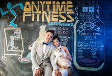 Anytime Fitness Singapore Gym Engagement Shoot by Daniel Sim Photography by Daniel Sim Photography