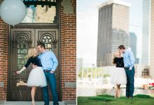 ENGAGEMENT SESSION WITH MEGAN & DOMENIC by C'est Ça New York