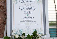 Wedding of Mario and Anin by Jimbaran Bay Beach Resort and Spa