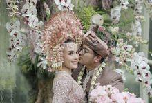 The Wedding of  Irena & Arya by Amorphoto