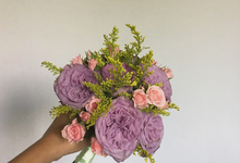 Korean Style Wedding Bouquet by Beyond by Brigita