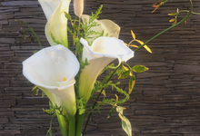 Calla Lily Bouquet Korean Style Wedding Bouquet by Beyond by Brigita