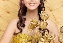 "Miss Indonesia ""Bengkulu"" 2013 by Portia MakeUp Artist"