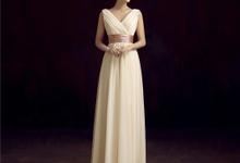 Long Dress untuk pesta warna Broken White by BFF Rent Dress
