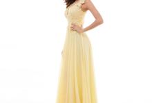 Long Dress untuk pesta warna Yellow by BFF Rent Dress