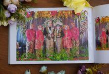 Coffee Table Album Tita And Tito Wedding Party by Muliafoto