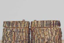 Wooden Log Ring Storage by kemasmanis