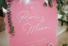Wedding Riri & Musa by Azila Villa