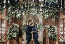 The Wedding of Rossa & Bagus by Azila Villa