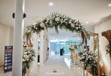 The Wedding of Bella & Syawal di Amana Venue by Decor Everywhere