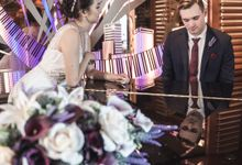 The wedding of  Brian & Julie by BSMedia