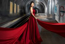 Elegant Pre-Wedding Photo Shoot by RedCarpet Bridal Artistry