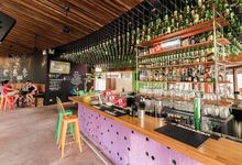 Vibrant venue for your quirky wedding by Bikini Bar