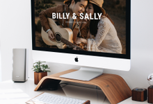 Wedding Website - Billy Simpson and Sally Santoso by Our Days & Co - Wedding Website Design