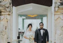 The Wedding of Bayu and Jurell by Hilton Bali Resort