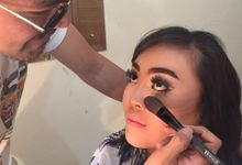Test Makeup Akad Nikah Dan Resepsi by MakeupbyVino