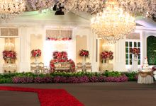 The Ruby Gala by MawarPrada Wedding Decoration