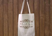 Sebastian & Emily Blacu Bag by Batanta Gift