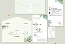 Alana & Robi by Bellva Invitation