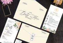 Disty & Heri by Bellva Invitation