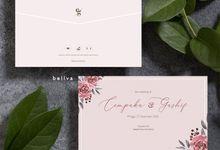 Cempaka & Gashif Purple Theme by Bellva Invitation