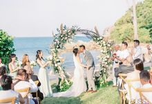 Cass and Joseph Wedding at Banyan Tree Koh Samui Thailand by BLISS Events & Weddings Thailand