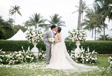 Destination wedding at Samujana Villas Koh Samui by BLISS Events & Weddings Thailand