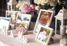 Denny & Sonia - Garden Wedding & Pastel Reception by Blissmoment