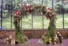 Ivan & Kelly - Fairylight & Rustic Burgundy Wedding by Blissmoment