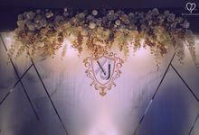 Fang Xiong & Jacelynn- Glamorous Wedding Lunch by Blissmoment