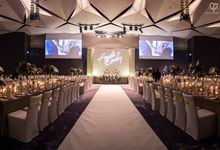 Fendi & Emily- White and Modern Industrial Wedding by Blissmoment