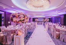 Iwin & Joel - Fairytale lilac wedding by Blissmoment