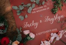 Jacky & Jayslyn - Glamorous red & pink canopy wedding by Blissmoment