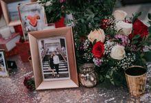 Jacky & Jayslyn - Glamorous red & pink canopy wedding by Blissmoment