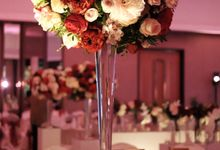 Matt & Eve - Marsala and blush garden inspired wedding by Blissmoment