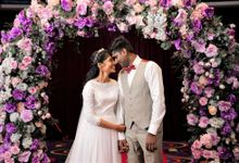 Mike & Grace - Romantic Purple and Lilac Wedding by Blissmoment