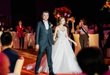 Andrew and Racheal Elegant Red by Blissmoment
