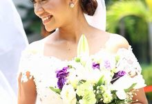 Romel & Ces Nuptial by Vanahty Hair & Make-up Artist