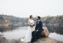 Olya and Leonid Wedding by MYWONY