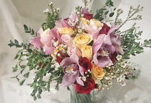 Wedding bouquet 2018 by Blooming Tale