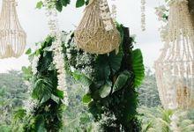 TAMARA & LUCKY  ELEGANCE IN THE RICE FIELDS by Bloomz Flower Bali