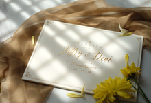 Jeffry & Devi wedding invitation by Bluebelle Invitations