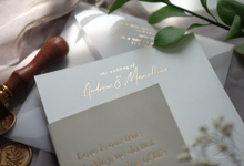 Andrew & Marcellina by Bluebelle Invitations