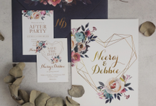 Neraaj & Debbie by Bluebelle Invitations