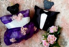 Sweet Blueberry Wedding Pillow by Fashion Pillow Weds