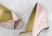 Rosie Bridal Shoes by Evaldo Bridal Shoes