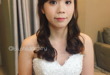 Actual day - Bride Yi Koon by Blushed Artistry