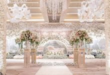 Bob & Charlene Wedding at Ayana Midplaza by Grasida Decoration