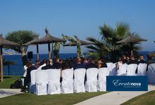 Wedding on the beach Marbella by Eventonova