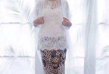 Collection 2018: kebaya akad by Boenga Bridal Couture
